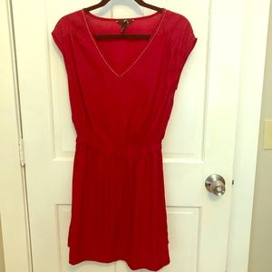 H&M red dress size 4